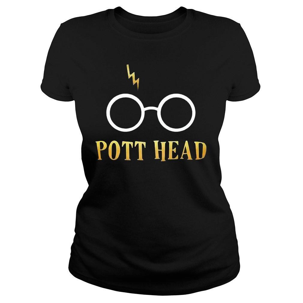 Harry potter pott head shirt ladies tee