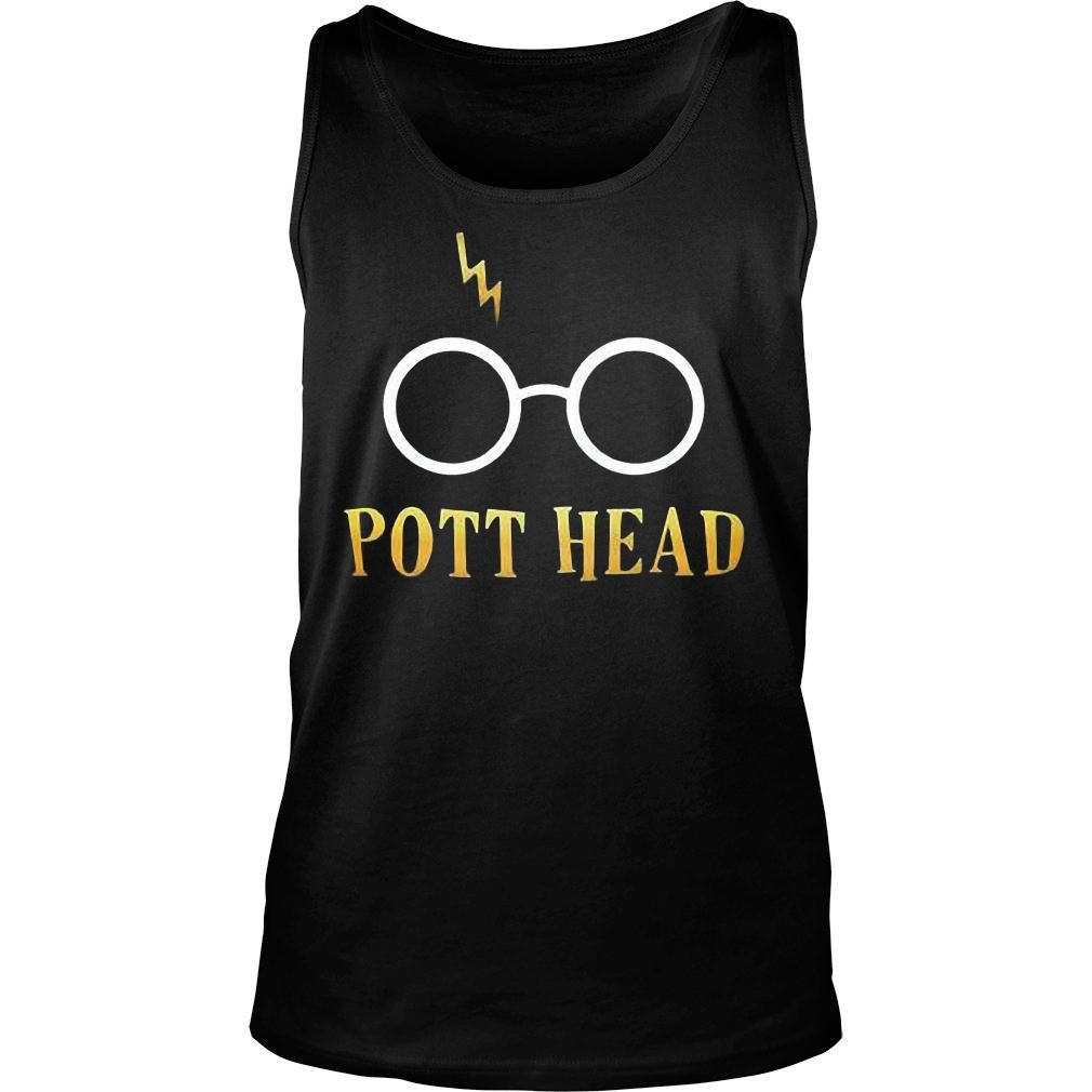 Harry potter pott head shirt tank top