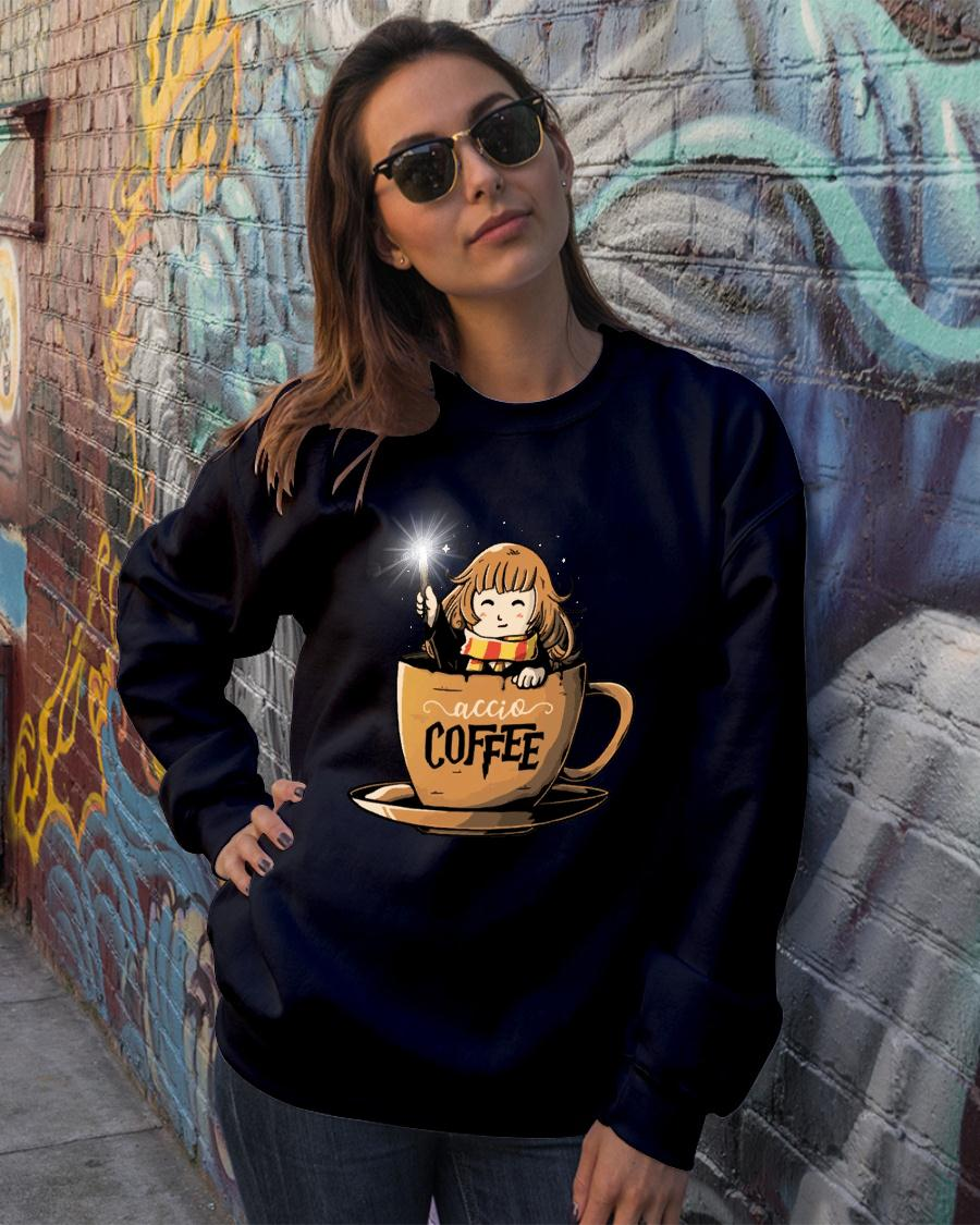 Hermione Harry Potter Accio Coffee shirt sweater official