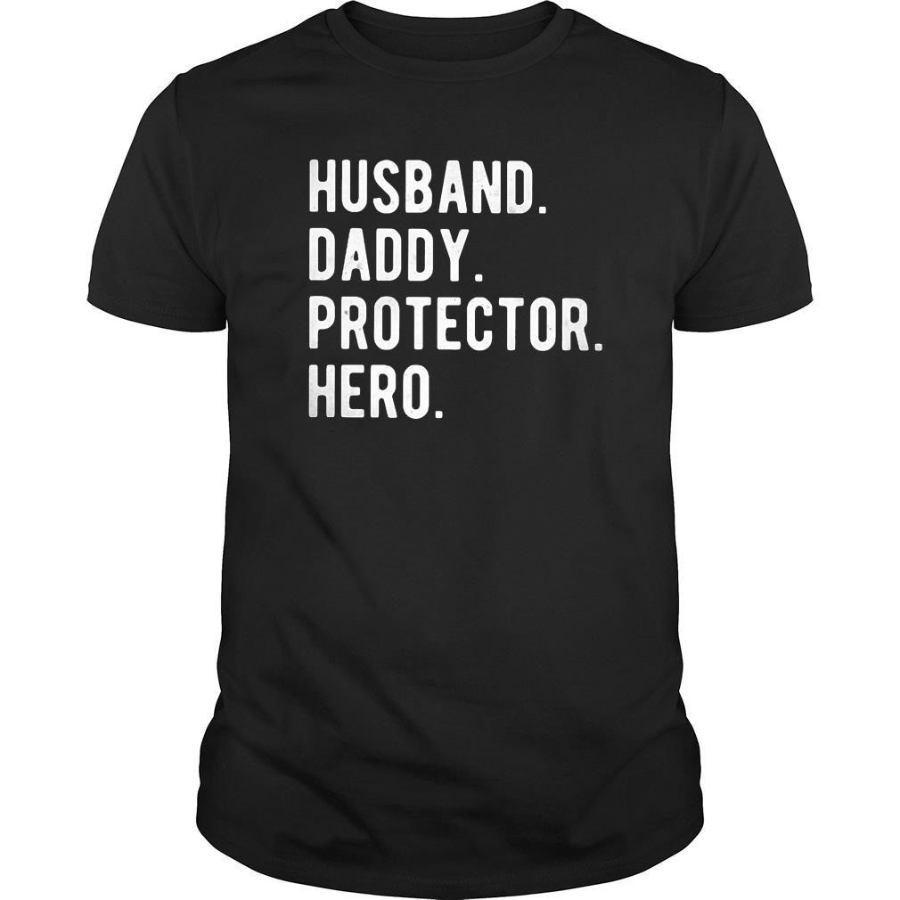 Husband Daddy Protector Hero Classic Shirt