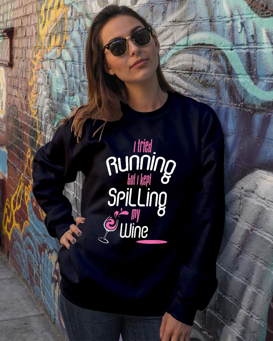 I Tried Running Shirt sweater official