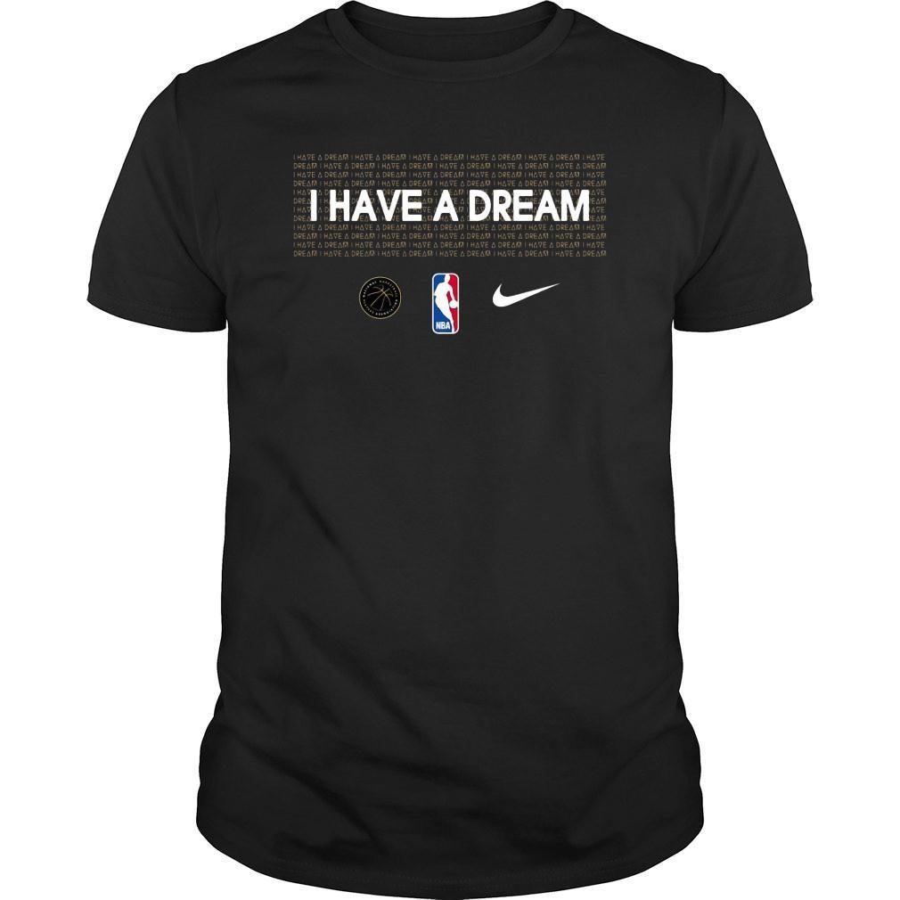 I have a dream NBA mlk shirt