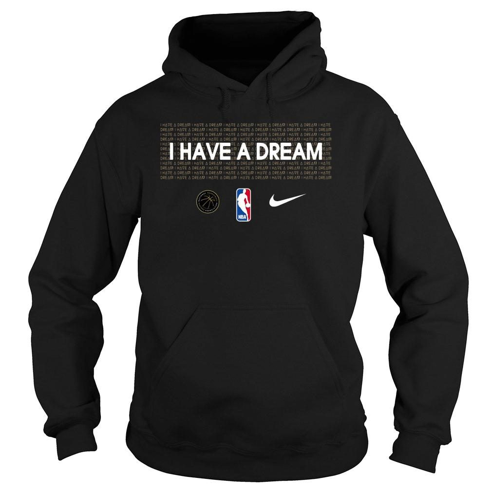I have a dream NBA mlk shirt hoodie