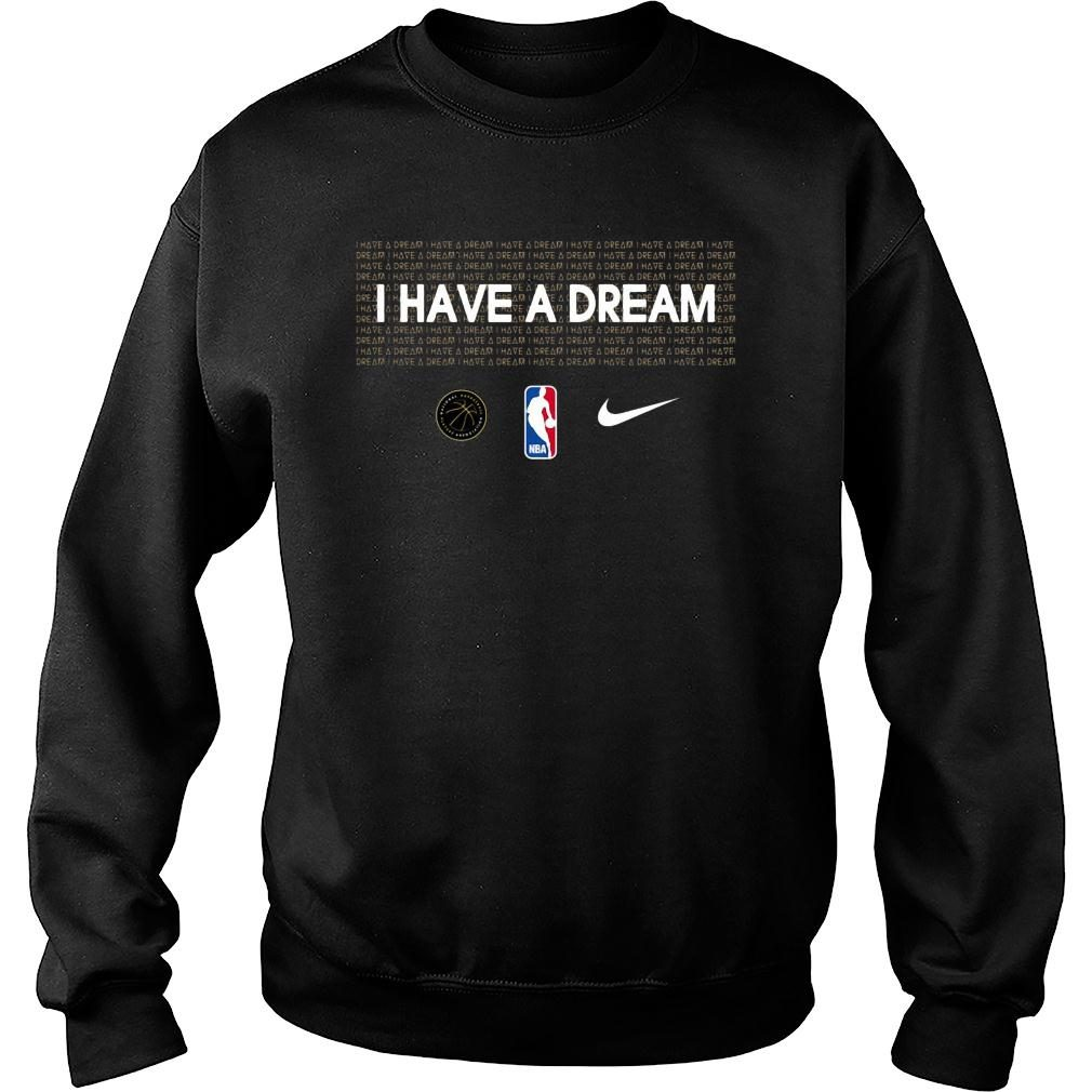 I have a dream NBA mlk shirt sweater