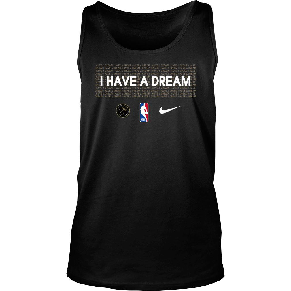 I have a dream NBA mlk shirt tank top