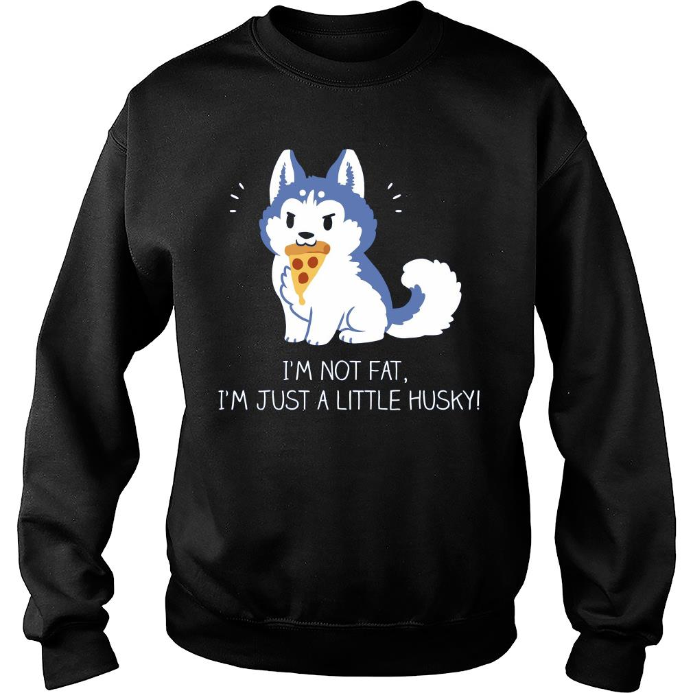 I'm just a little husky sweater