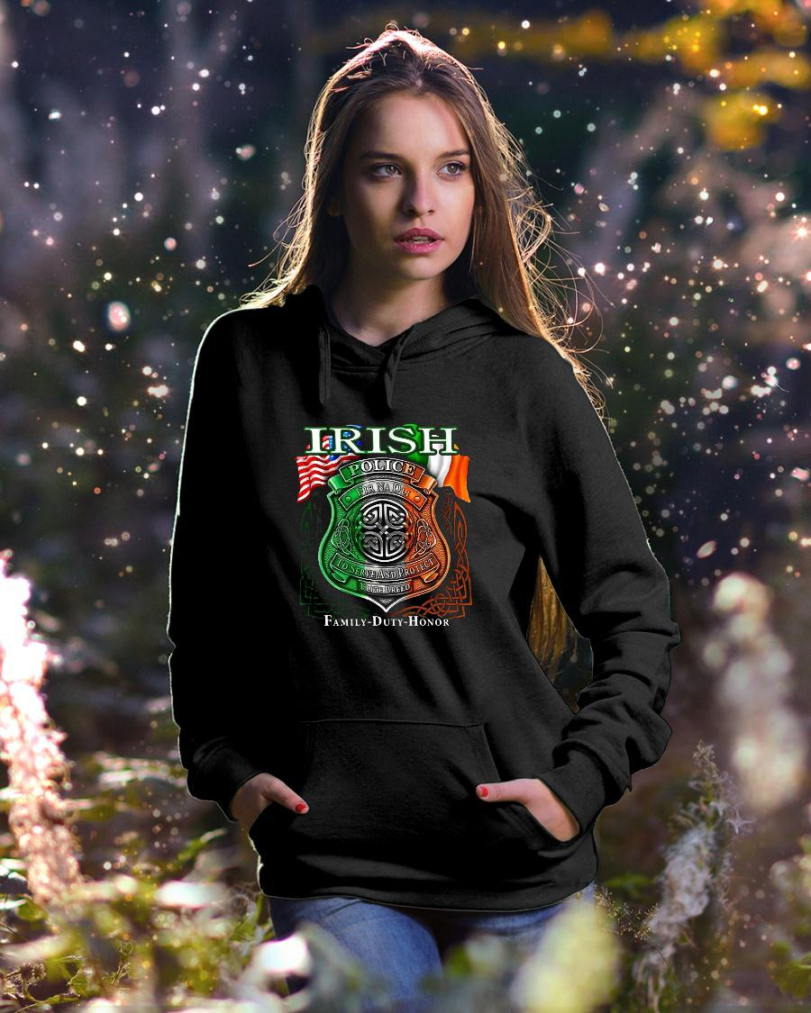 Irish Police To Serve And Protect Elite Breed Family Duty Honor shirt hoodie unisex
