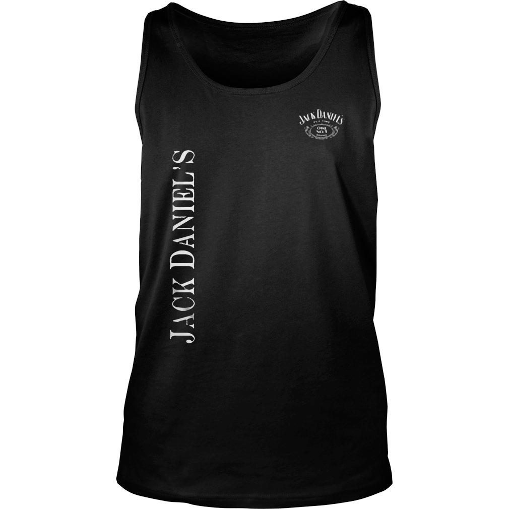 Jack daniel's is just like duct tape shirt tank top