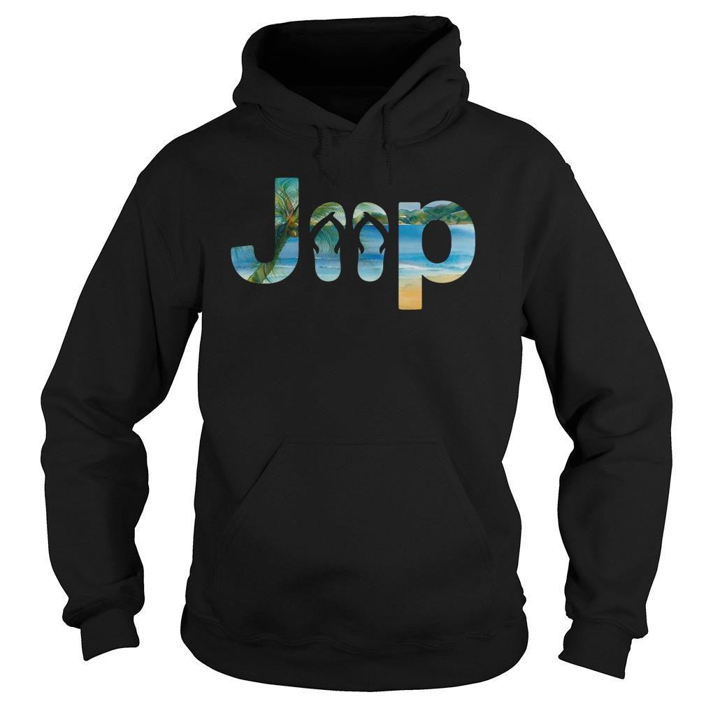 Jeep flip flops shirt hoodie