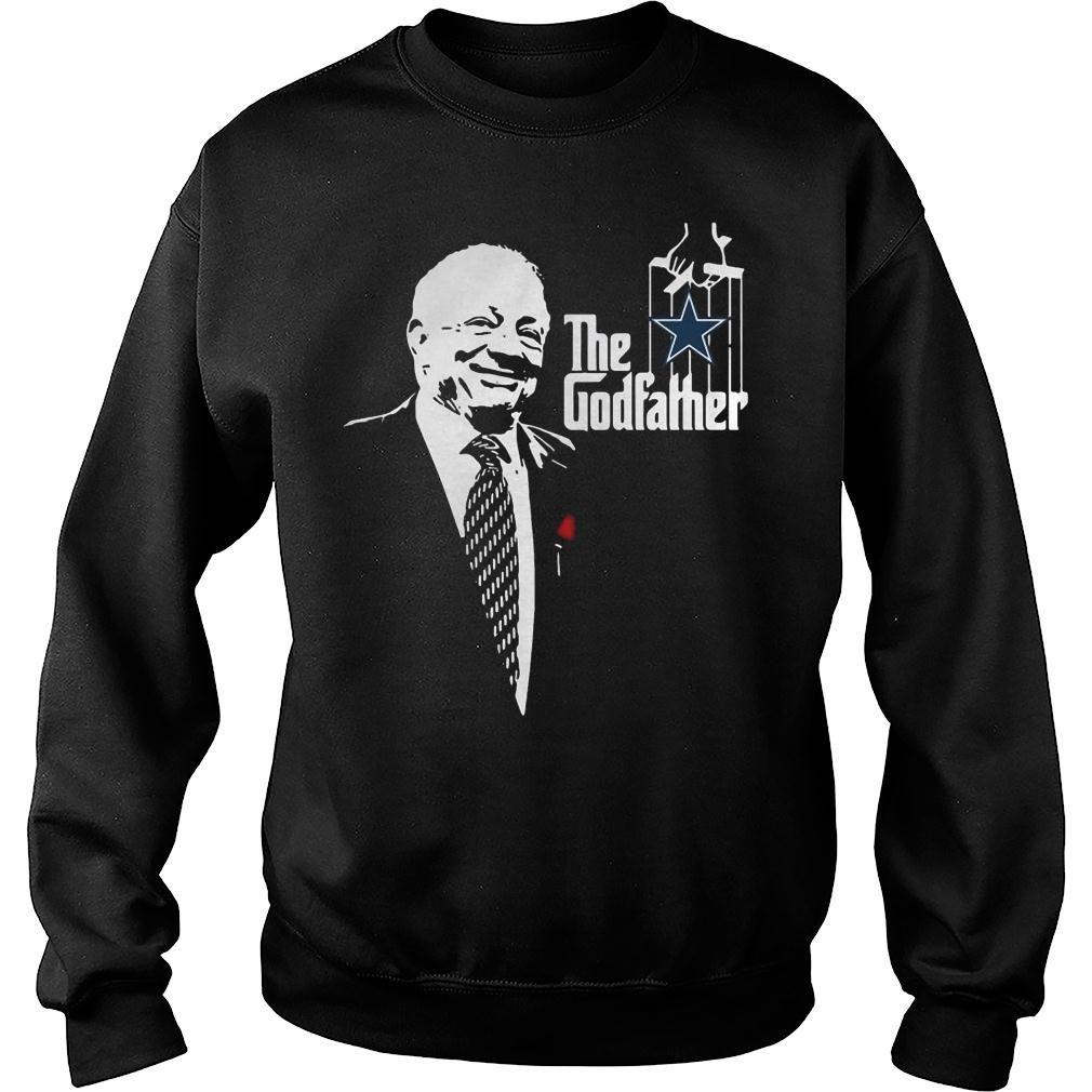 Jerry jones the godfather dallas cowboys shirt sweater