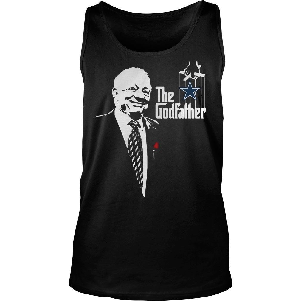 Jerry jones the godfather dallas cowboys shirt tank top