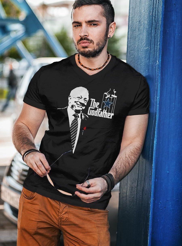 Jerry jones the godfather dallas cowboys shirt unisex