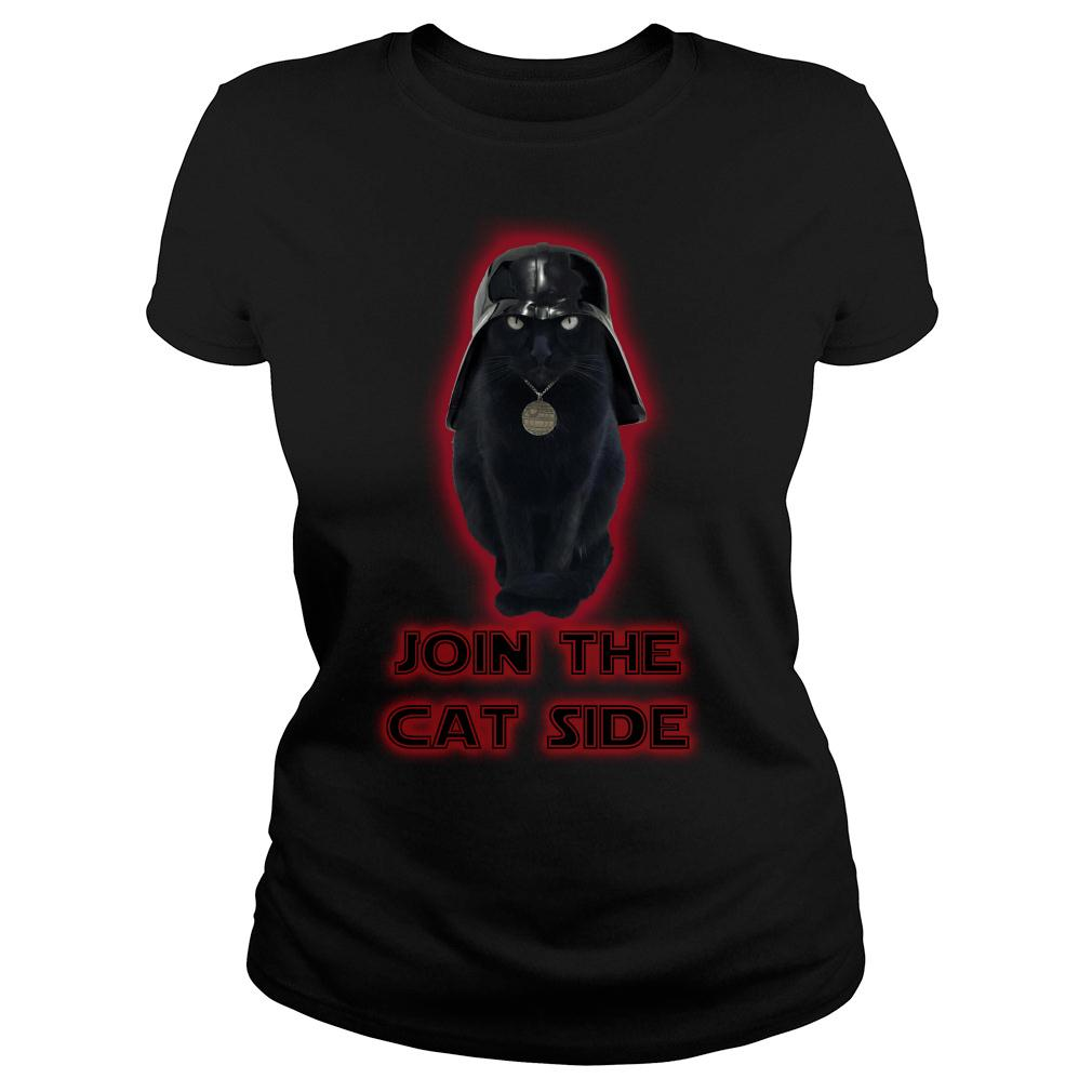 Join The Cat Side Shirt ladies tee