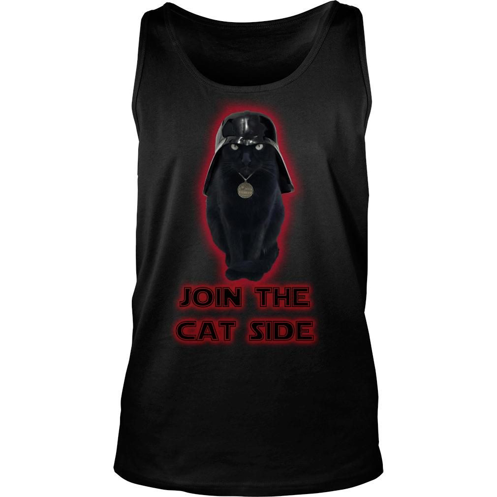 Join The Cat Side Shirt tank top