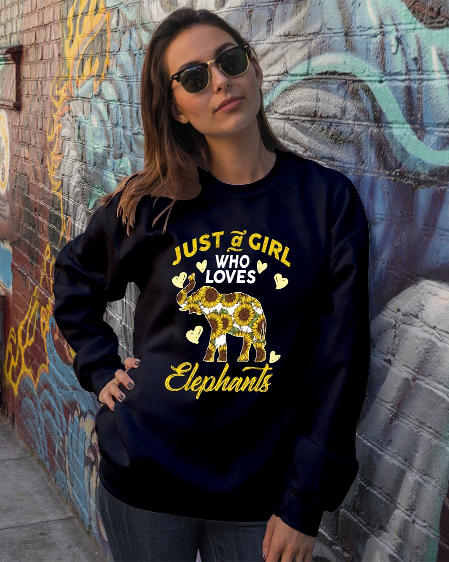 Just A Girl Who Loves Elephants shirt sweater official