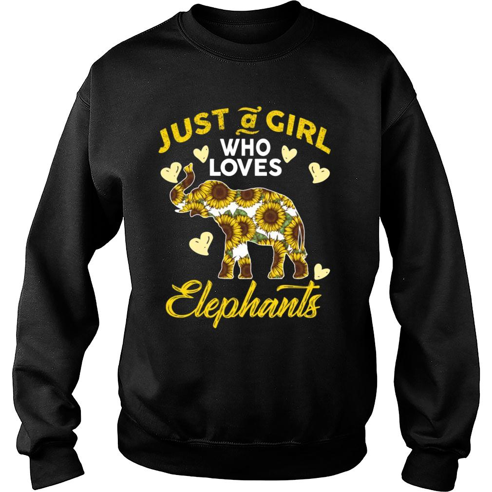 Just A Girl Who Loves Elephants shirt sweater