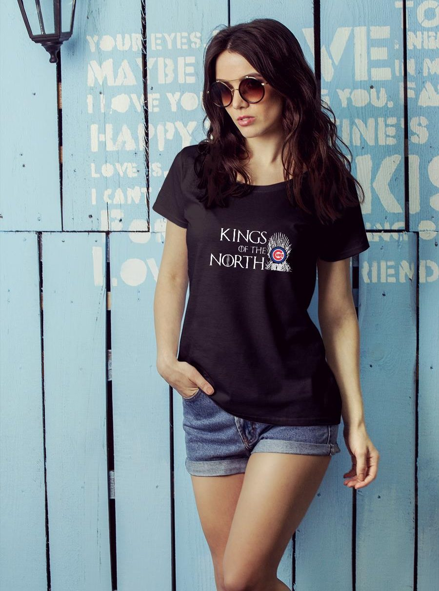 Kings of the north Chicago Cubs shirt ladies tee official