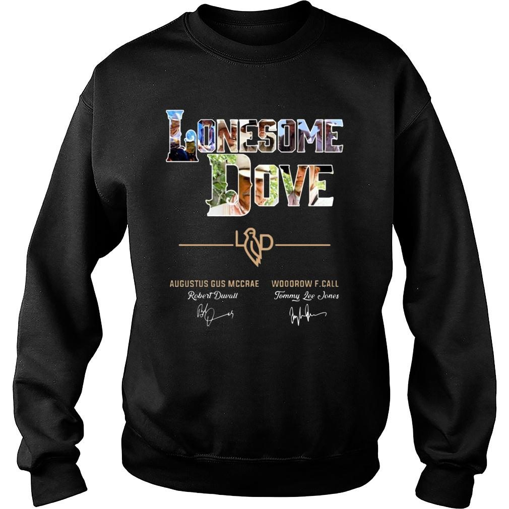 Lonesome Dove Augustus Gus Mccrae And Woodrow F Call Signature shirt sweater