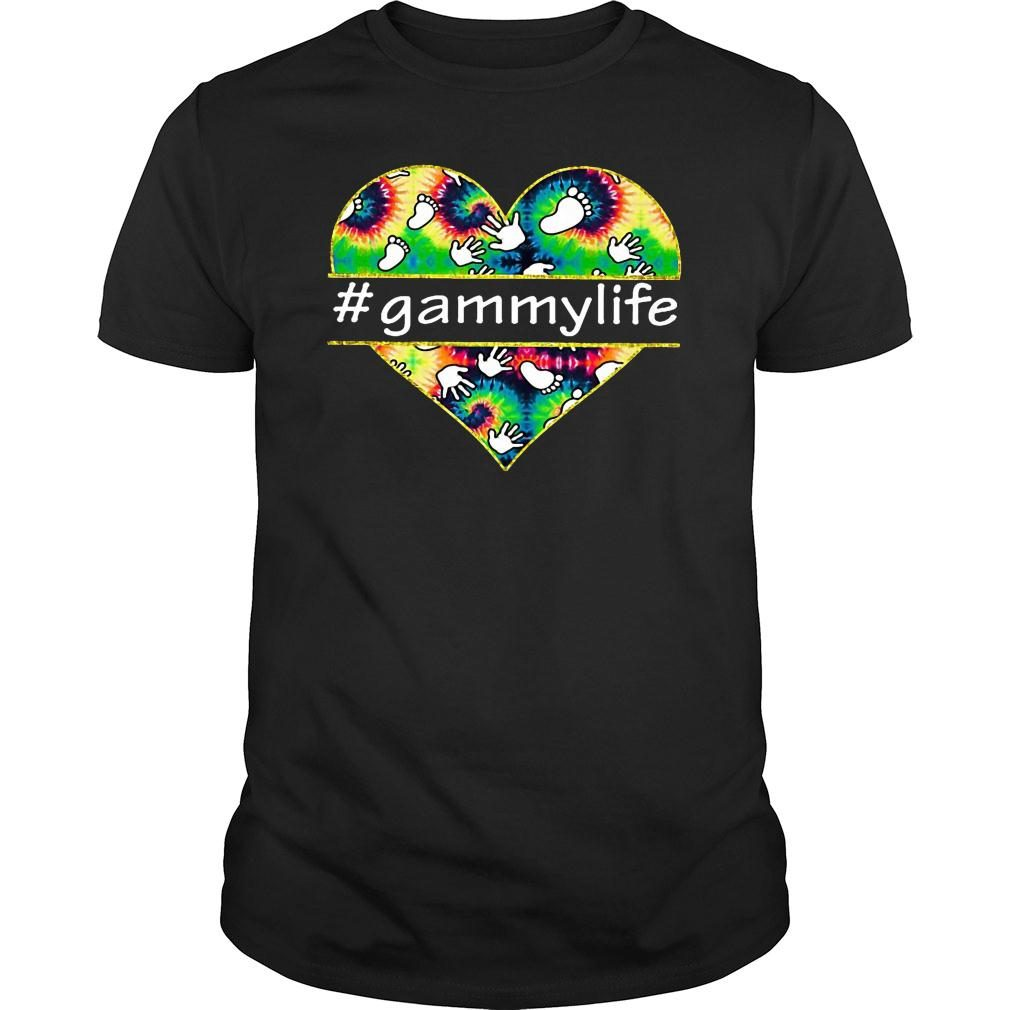 Love heart gammylife shirt