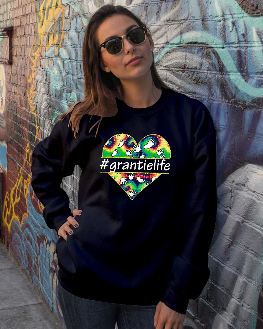 Love heart grantielife shirt sweater official