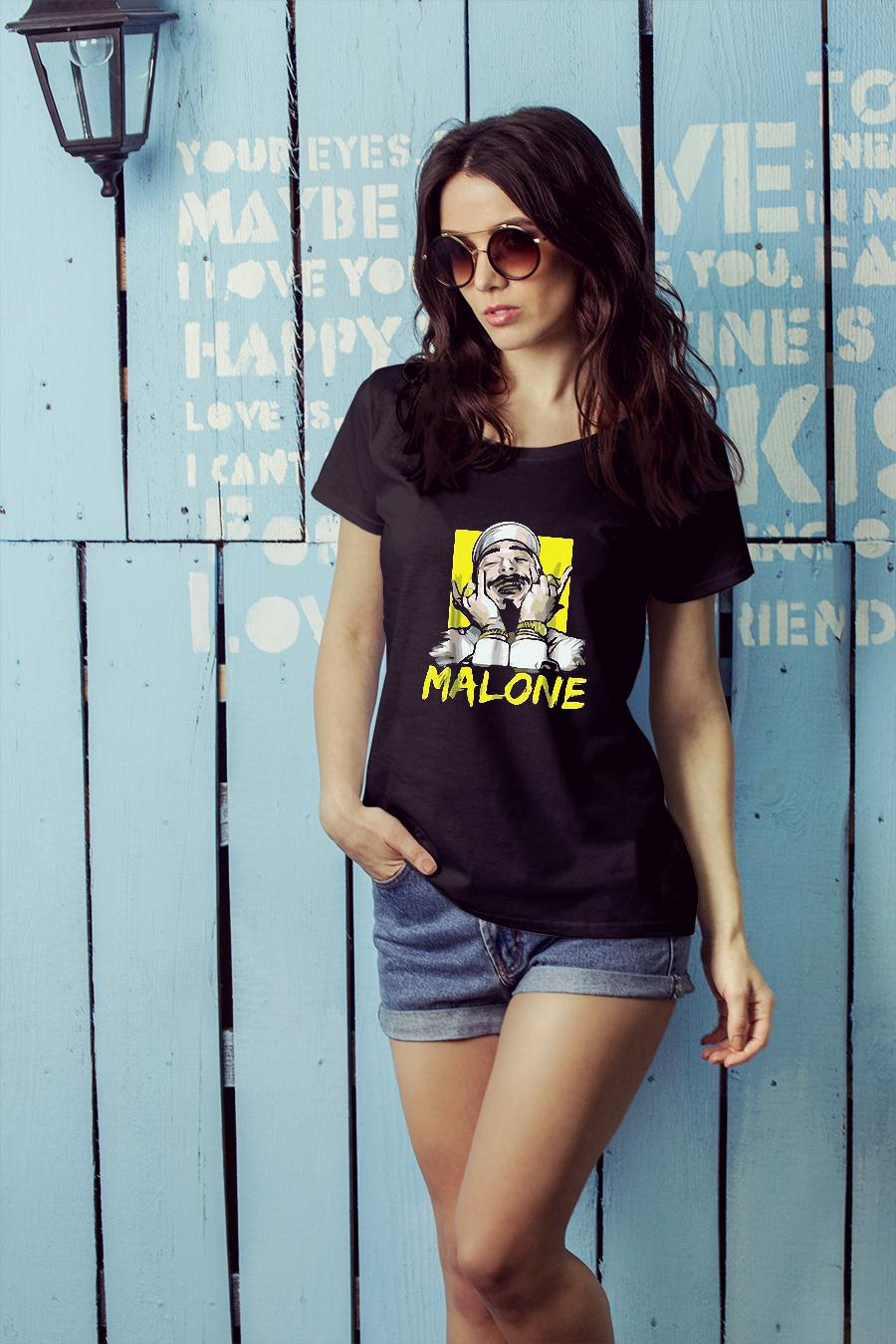 Malone shirt ladies tee official