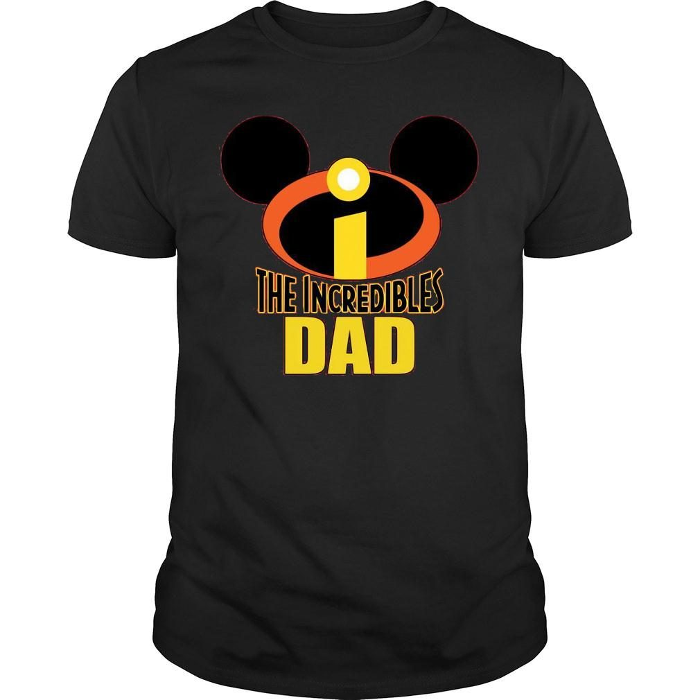 Mickey The Incredible Matching Dad Shirt