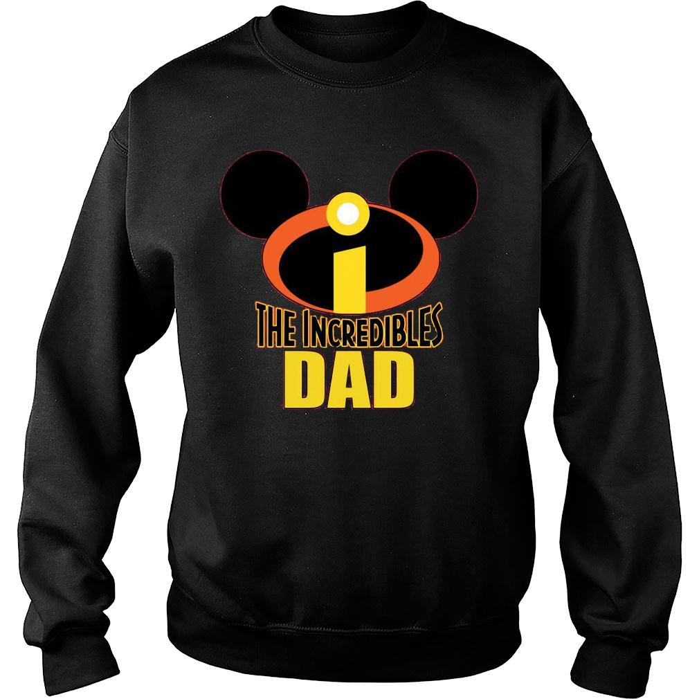Mickey The Incredible Matching Dad Shirt sweater