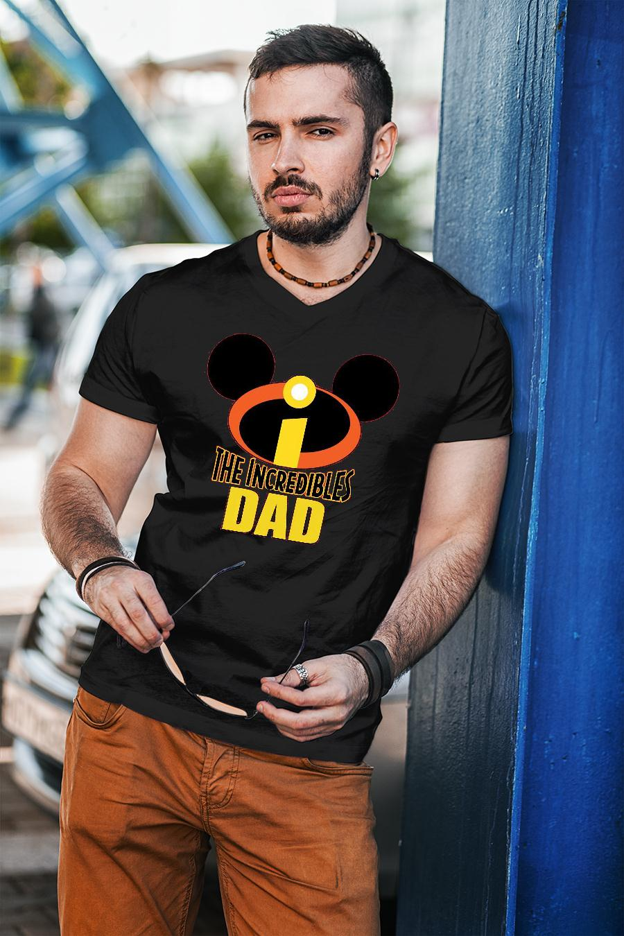 Mickey The Incredible Matching Dad Shirt unisex