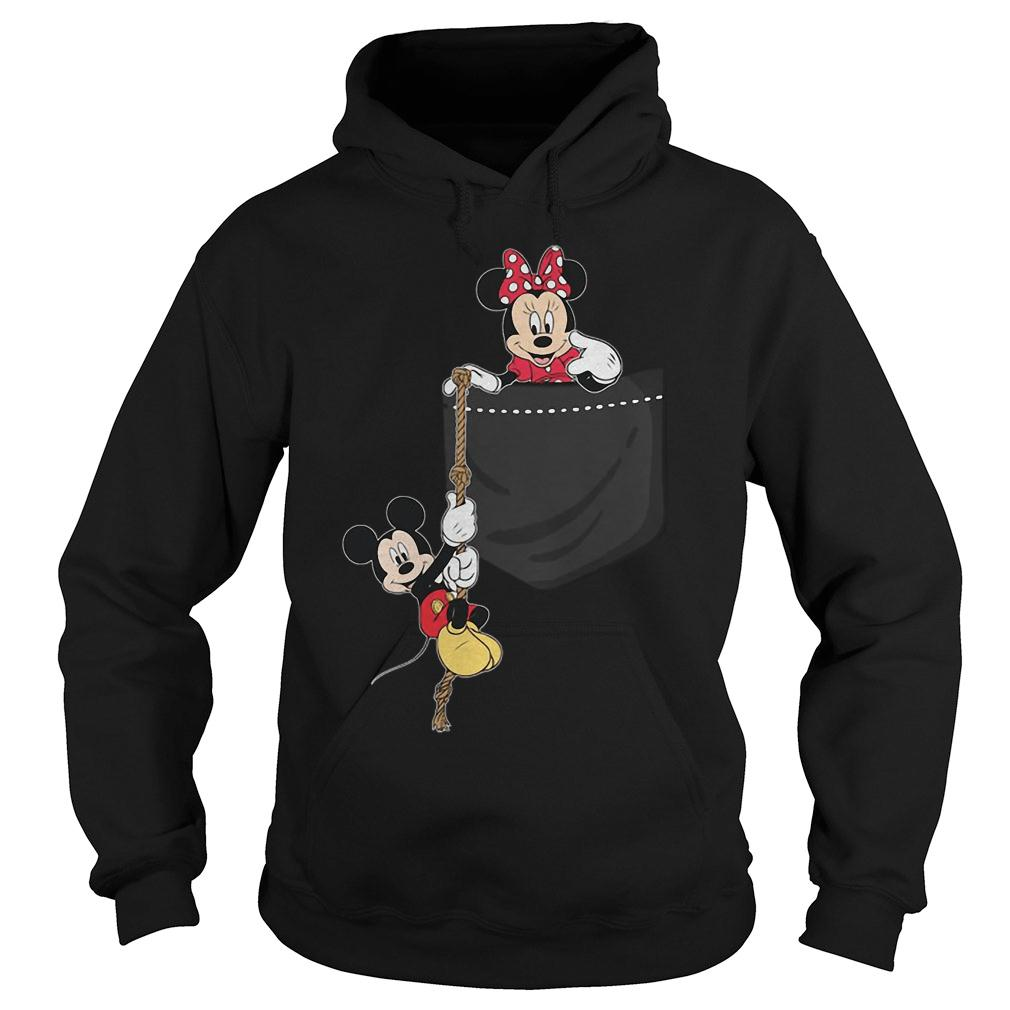 Mickey and Minie shirt hoodie