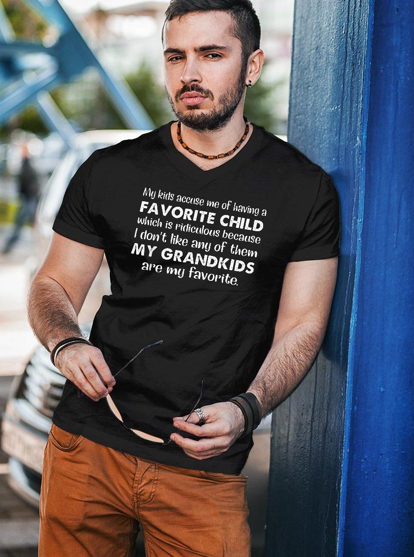 My kids accuse me shirt unisex