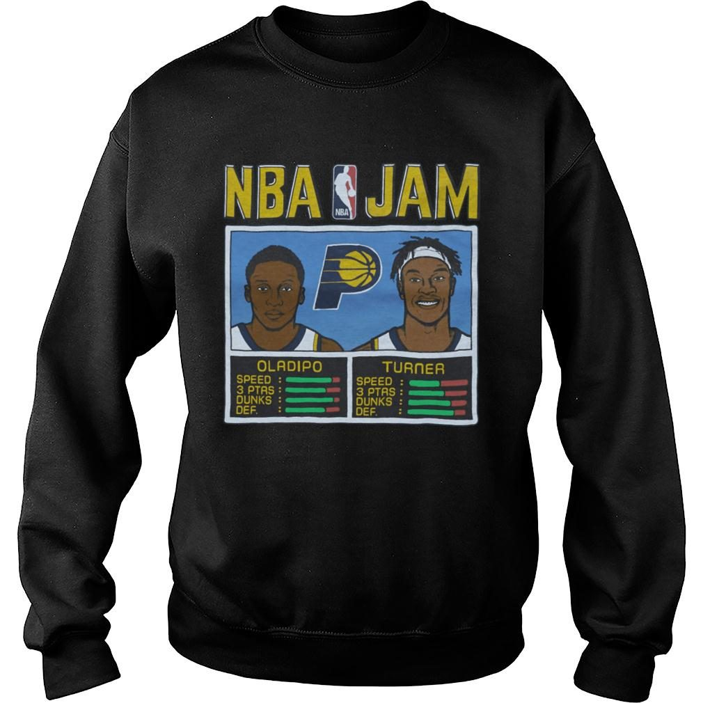 detailed look 51065 c4979 NBA Jam Pacers Oladipo And Turner Shirt