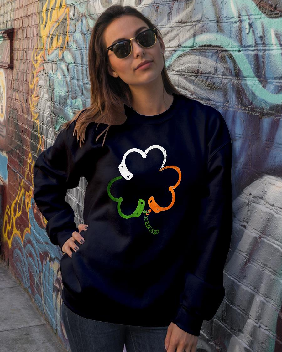 NEW POLICE SHAMROCK SHIRT sweater official