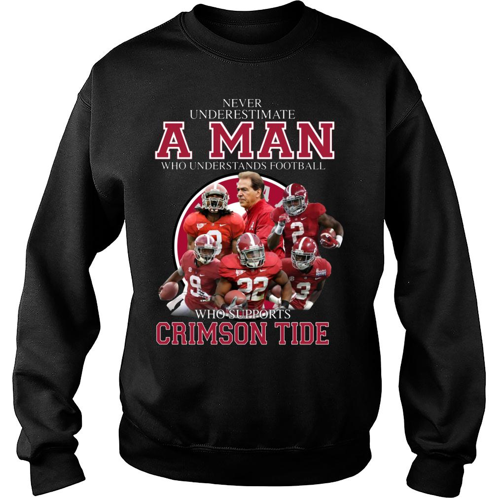 Never Underestimate A Man Who Understands Football And Love Clemson Tgers shirt sweater