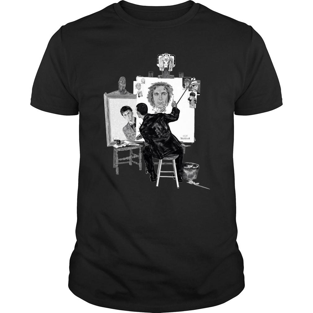 Norman Rockwell paintings doctor shirt