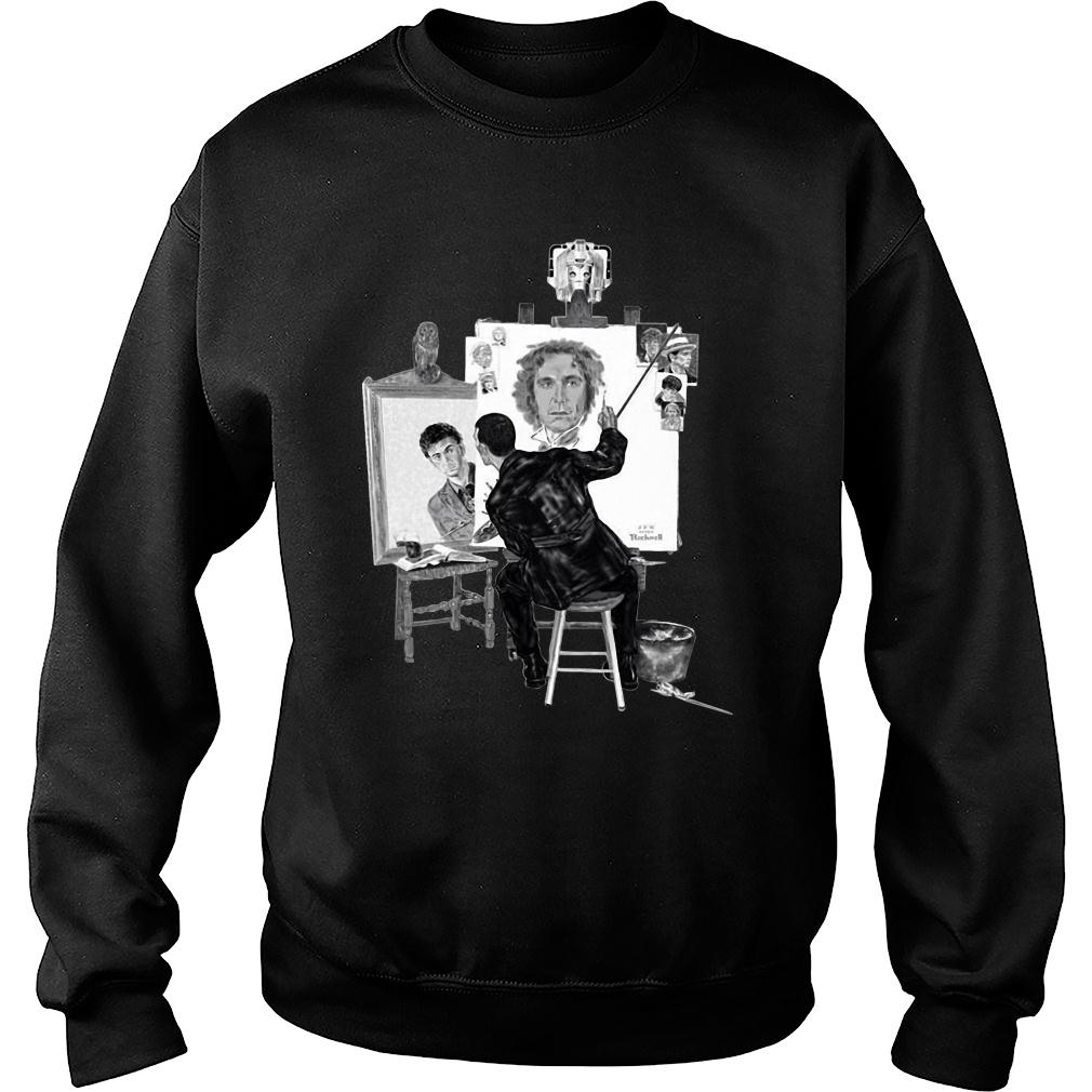 Norman Rockwell paintings doctor shirt sweater