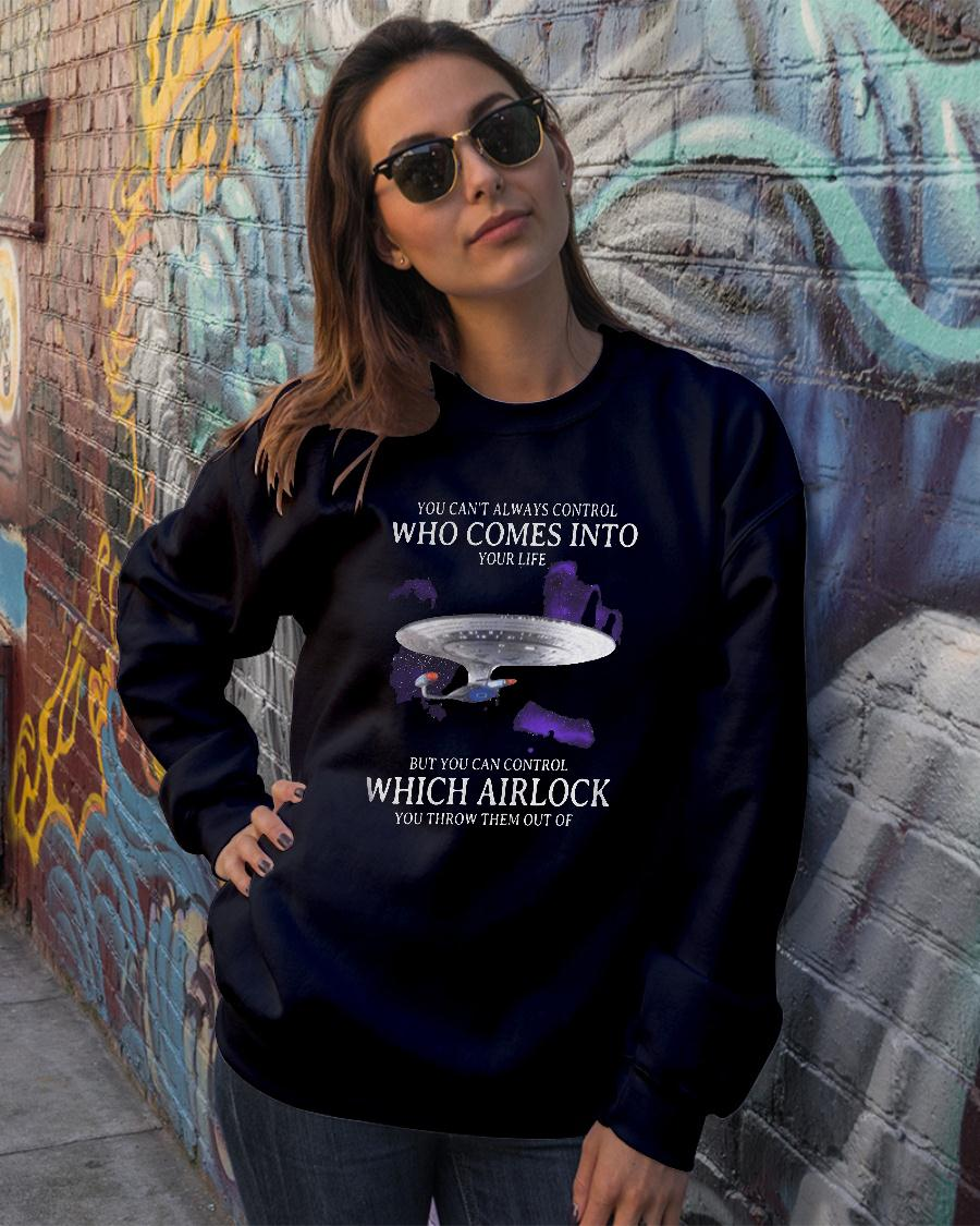 Official Star Trek You can't always control who comes into your life but you can control shirt sweater official