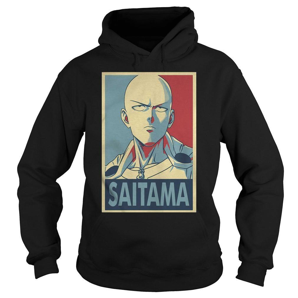 One punch man Saitama shirt hoodie