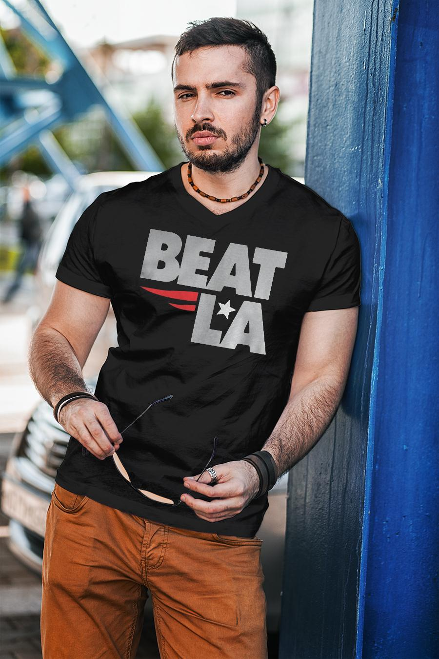 Patriots Beat LA Shirt unisex