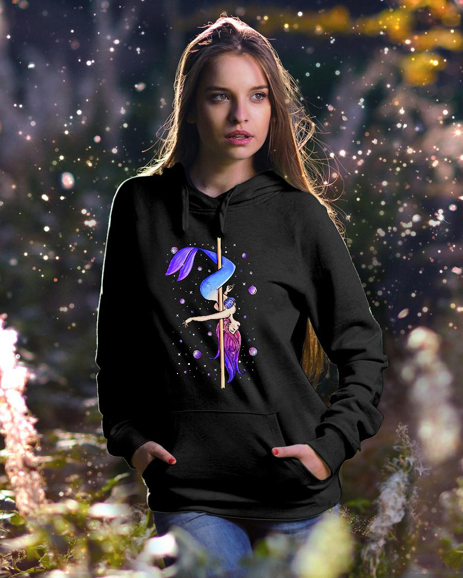 Pole dancing Mermaid shirt hoodie unisex