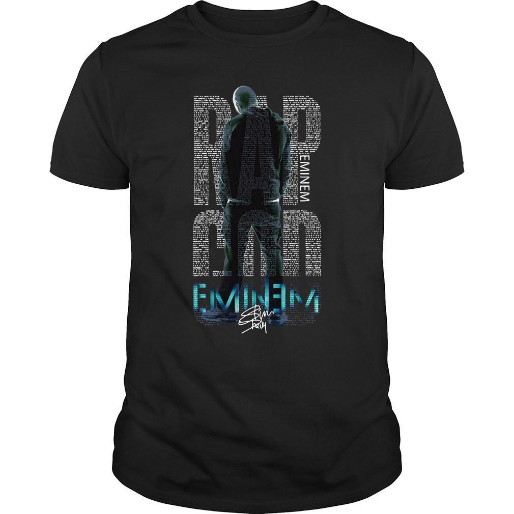 Rap Eminem god eminem shirt