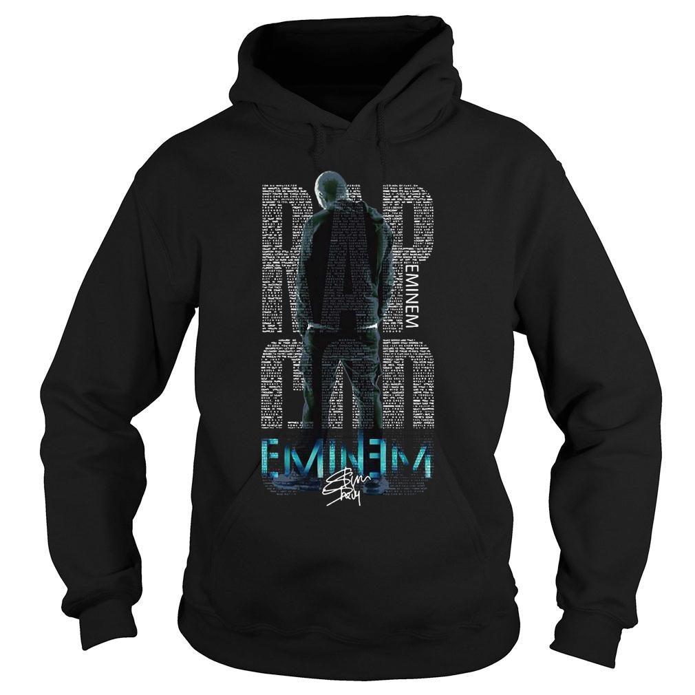 Rap Eminem god eminem shirt hoodie