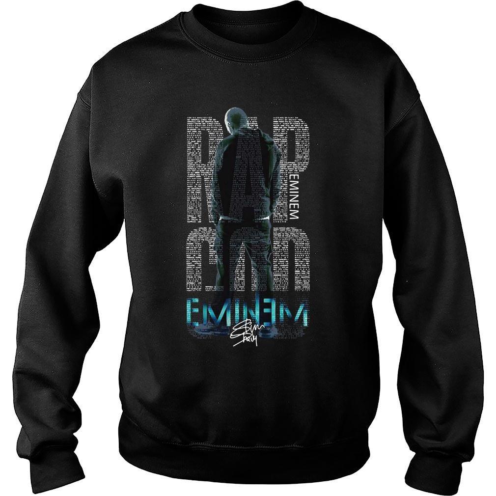 Rap Eminem god eminem shirt sweater