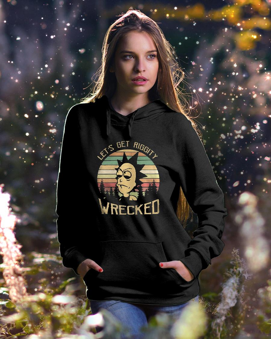 Rick Let's Riggity wrecked sunset vintage Shirt hoodie unisex