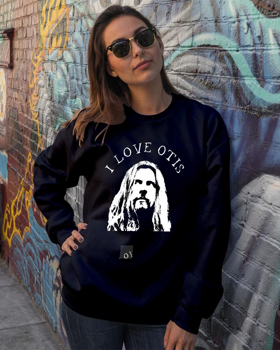 Rob Zombie I Love Otis Shirt sweater official