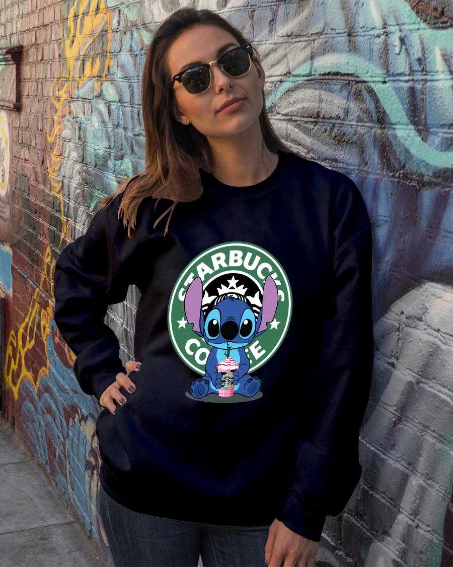 Stitch Starbucks coffee shirt sweater official
