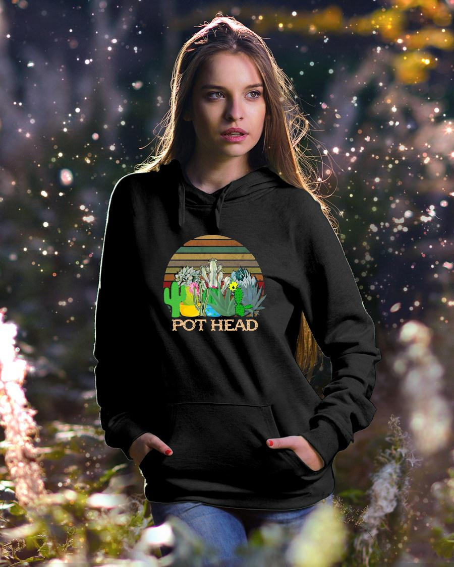 Succulent Plants Pot Head Vintage shirt hoodie unisex
