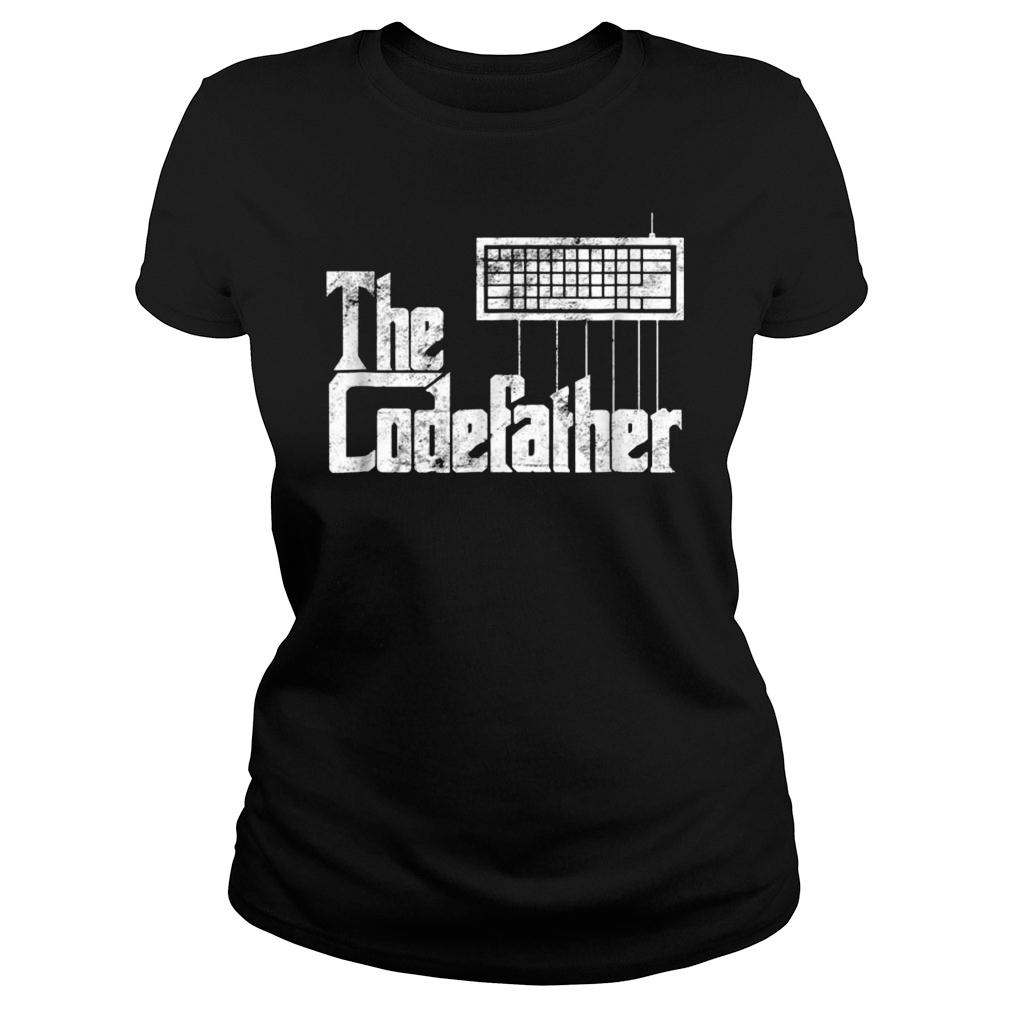 The Codefather t shirt ladies tee