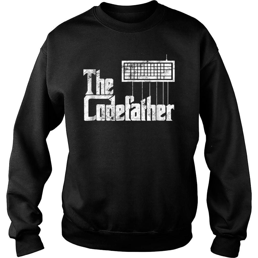 The Codefather t shirt sweater