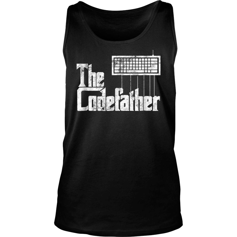 The Codefather t shirt tank top