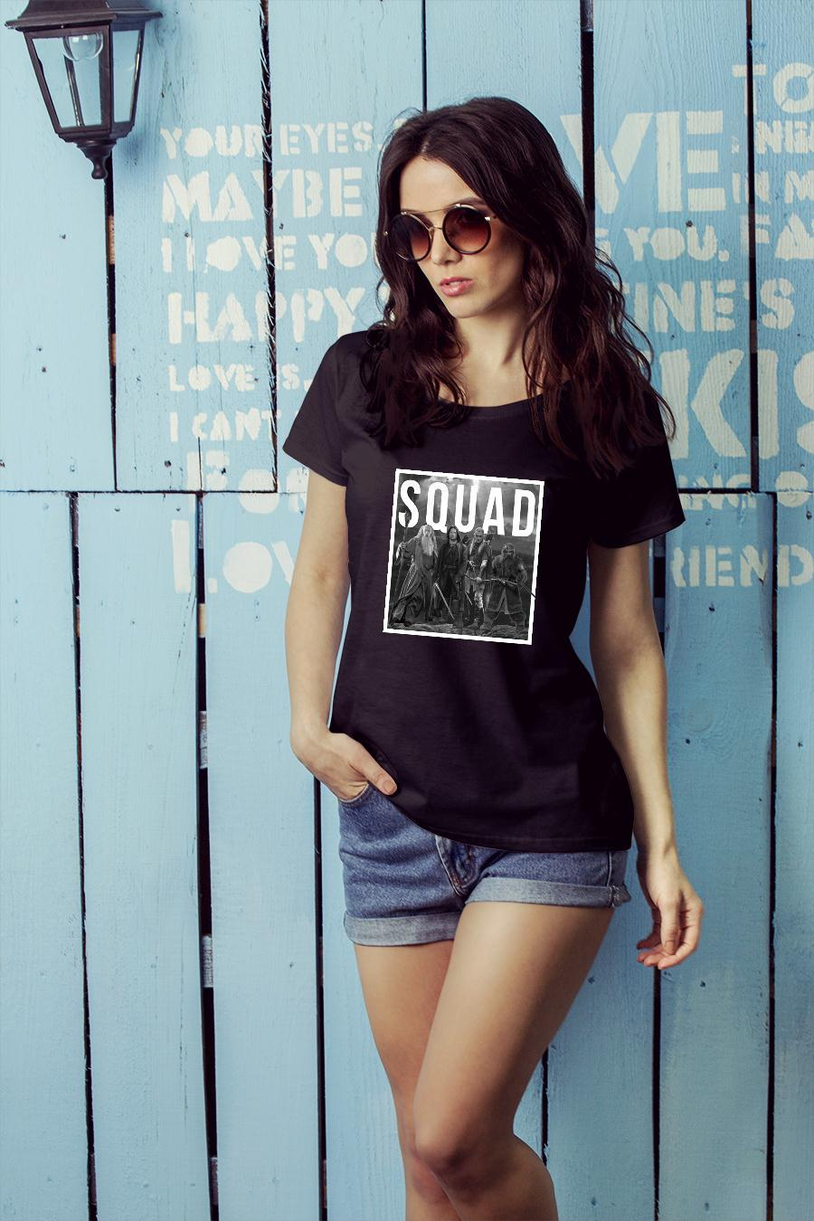 The Lord of the Rings squad shirt ladies tee official